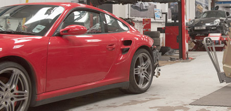 Porsche 911 service options from Ramus