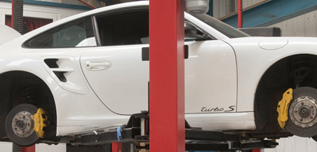 Porsche Panamera service options by Ramus